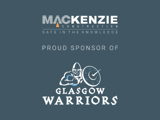 proud sponsors of the Glasgow Warriors image
