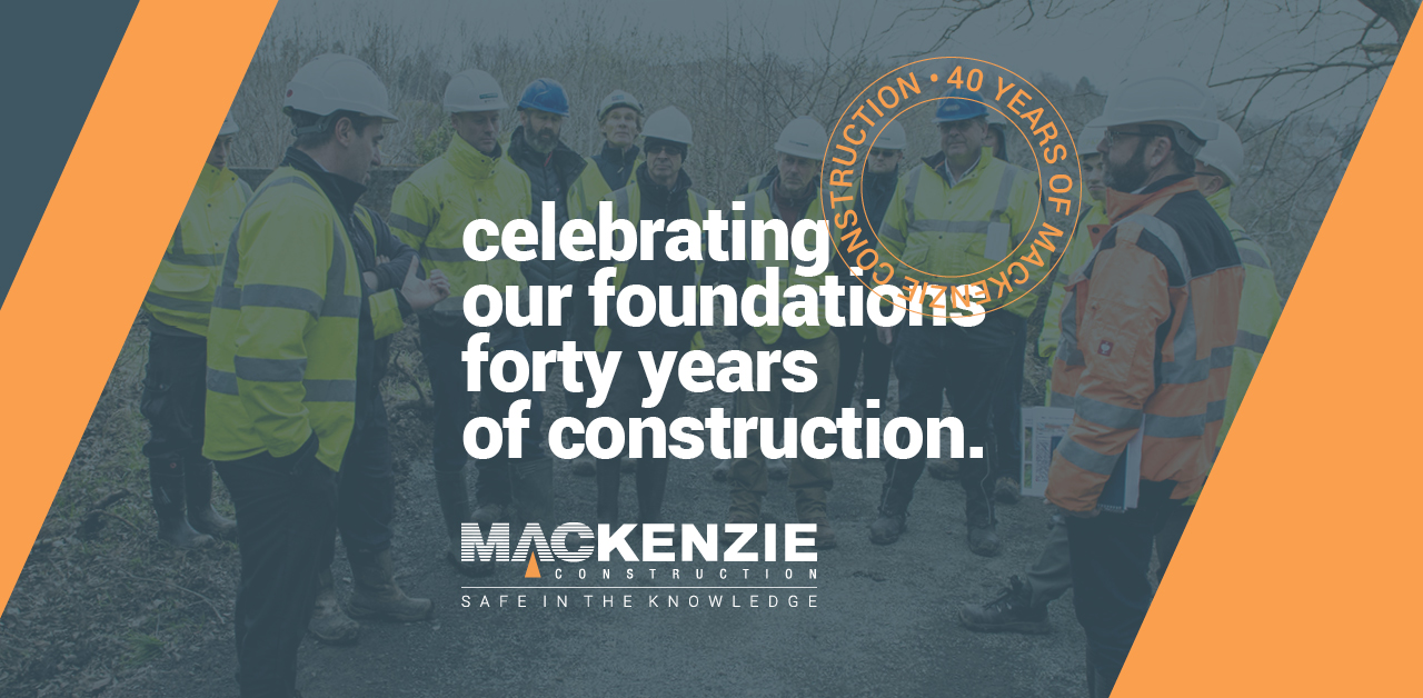 Celebrating our foundations: 40 years of Mackenzie Construction