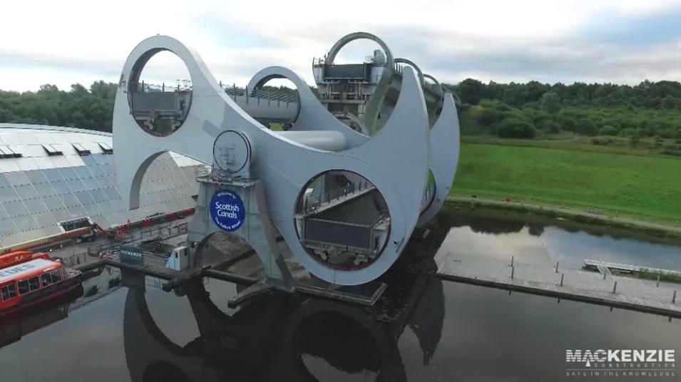 Restoring an iconic Scottish landmark: The Falkirk Wheel