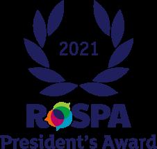 Rospa President's Award 2021