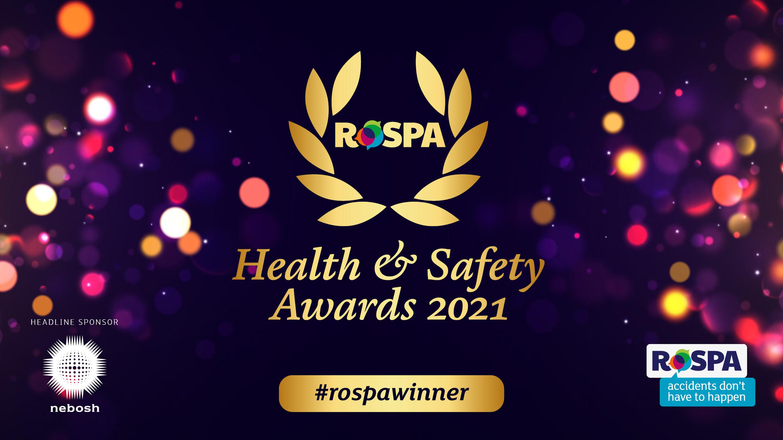 Mackenzie Construction awarded 13th Gold RoSPA Health & Safety Award